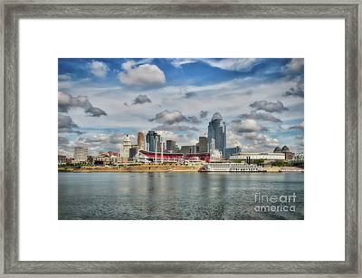 All American City 2 Framed Print