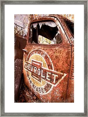 All American Framed Print by Debra and Dave Vanderlaan