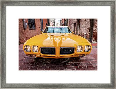 All American Muscle Framed Print