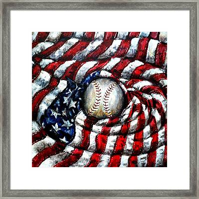 All American Framed Print by Shana Rowe Jackson