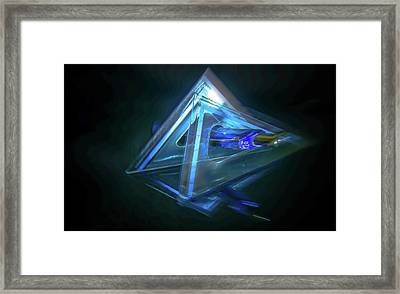 All Angles Covered Framed Print by Mark Dunton