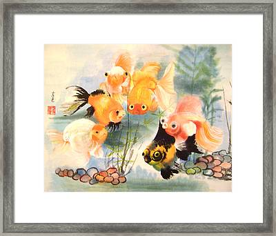 All Are Curious Framed Print by Lian Zhen