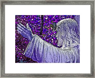 All Are Welcome Framed Print