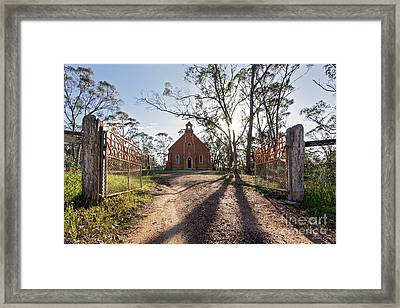 Framed Print featuring the photograph All Are Welcome by Linda Lees