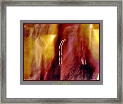All Around Me Framed Print by Jane Tripp