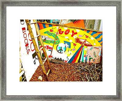 All Art Has Its Day In The Sun And In The Shadows Framed Print by Chuck Taylor