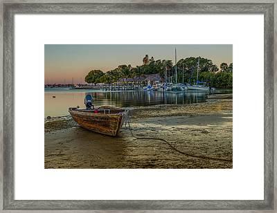 All Ashore Framed Print
