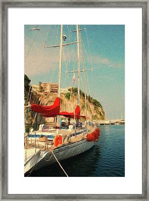 All Ashore Framed Print by Jeff Kolker