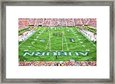 All Auburn All Day Framed Print by JC Findley