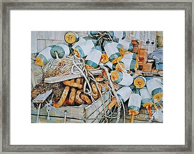 All Buoy'd Up Framed Print