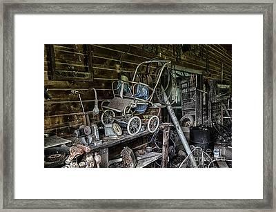 All But Forgotten Framed Print by Bob Christopher
