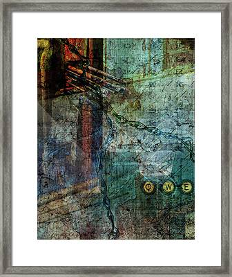 All But Forgotten Framed Print