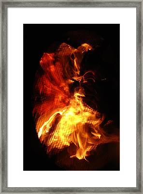 All Consuming Framed Print