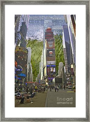 All Consuming Framed Print by Scott Evers