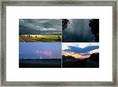 All Day Storm Framed Print by Richard  Hubal