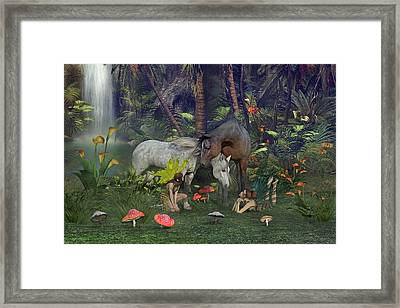 All Dreams Are Possible Framed Print by Betsy Knapp
