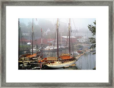 All Dressed Up...nowhere To Go Framed Print by Neil Doren
