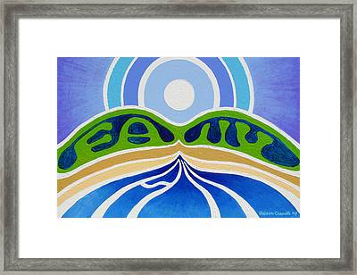 All Family Framed Print by Jaison Cianelli