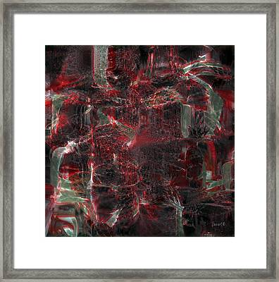 All Five Senses Are Filled With The Arts Framed Print by Fania Simon