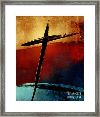 All For You Framed Print by Shevon Johnson