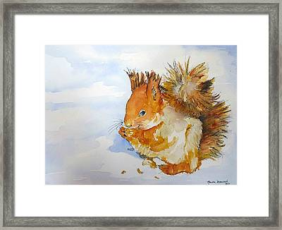 Framed Print featuring the painting All God's Creatures by P Maure Bausch