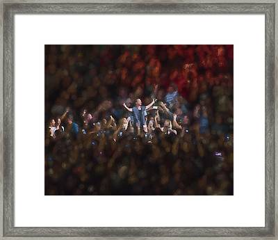 All Hail Eddie Vedder Framed Print by Toby McGuire