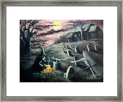 All Hallow's Eve Framed Print by Randy Burns