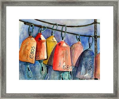 All Hung Up Framed Print