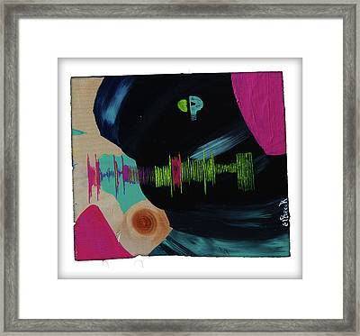 All I Can Do Is Think About You - Abstract Painting Framed Print