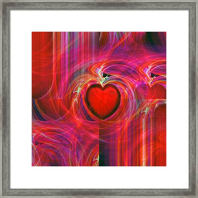 All I Have To Give You Framed Print by Michael Durst