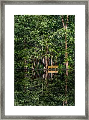 All I Need Is You Framed Print by Debra and Dave Vanderlaan