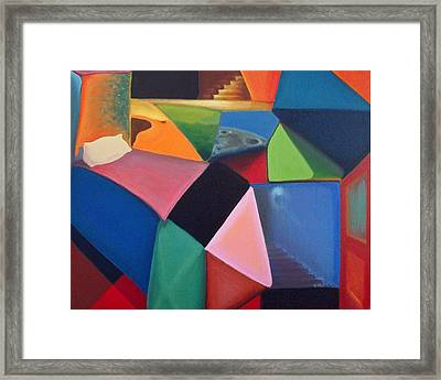 All In A Night's Walk Framed Print by Clemens Greis