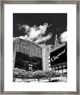 All In Cleveland Framed Print