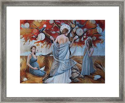All In Good Nature's Time Framed Print by Jacque Hudson