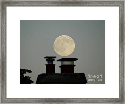 All In The Timing  Framed Print