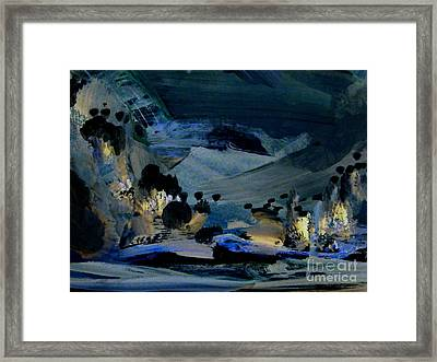 All Is Quiet Framed Print by Nancy Kane Chapman