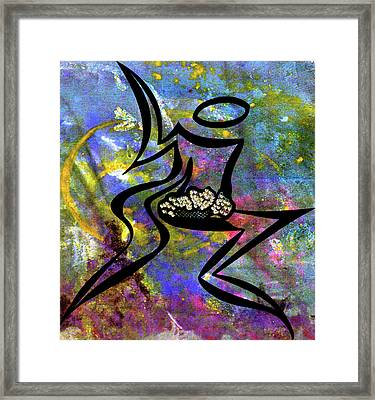 All Is Well In All Of Creation Framed Print by Marie Halter