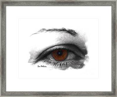 All Knowing Eye Framed Print