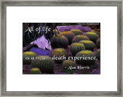 All Life Framed Print