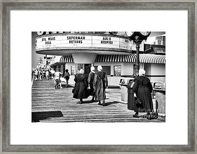 All Love The Shore Framed Print