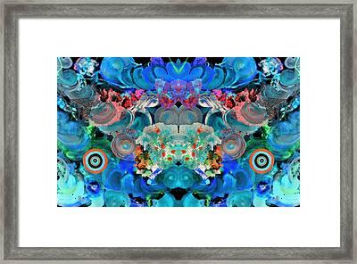 All Neon Like Framed Print by Sumit Mehndiratta