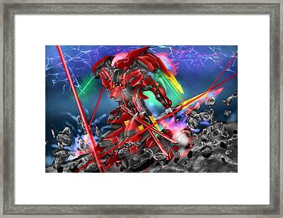 All-new Kestrel Framed Print