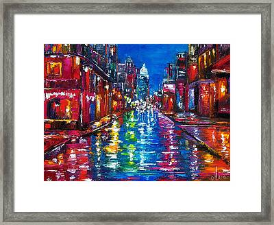 All Night Long Framed Print