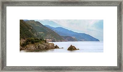 All Of Cinque Terre Italy Framed Print