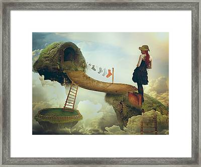 All Of Us Alice Framed Print