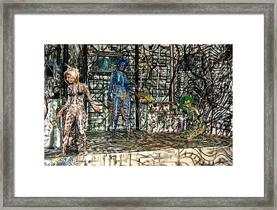 All One Inside Another Framed Print by Leigh Odom
