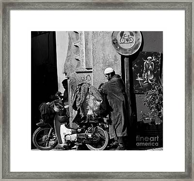 All Packed Framed Print by Marion Galt