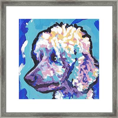 All Poodle Framed Print