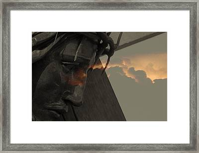 All Powerfull.. Framed Print