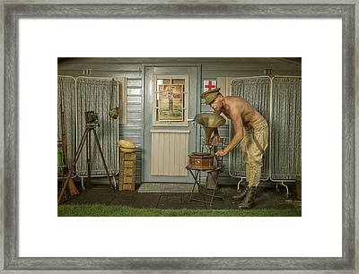 All Quiet On The Western Front-part Four Framed Print by Ronald van Grinsven